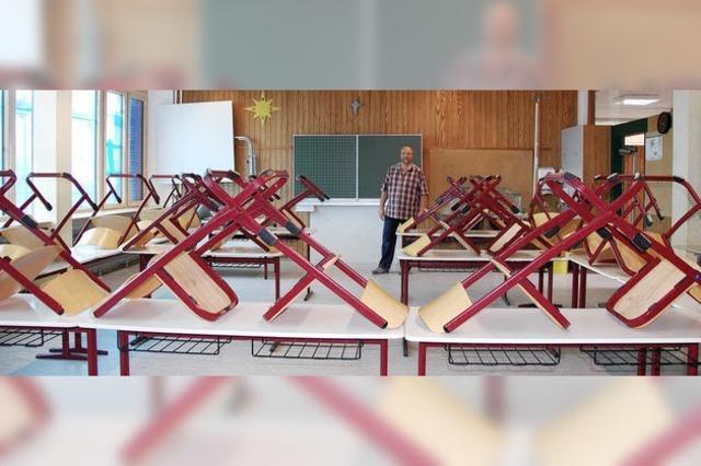 Großputz vorm Schulbeginn
