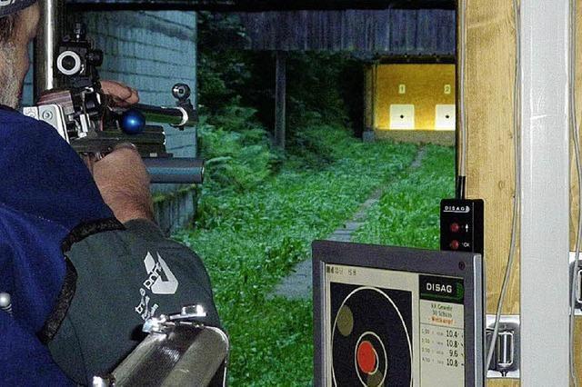 Hausens Schützen halten ihr Haus in Schuss