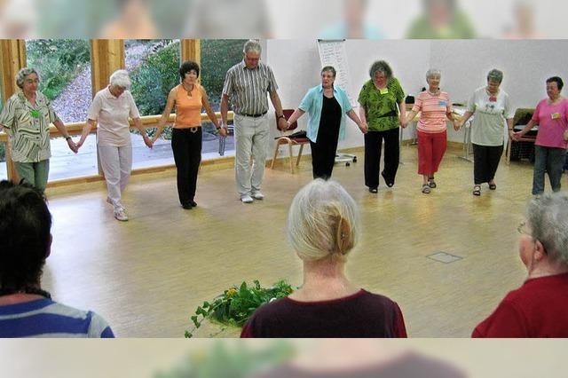 Förderung der geistigen und körperlichen Fitness durch Tanzen