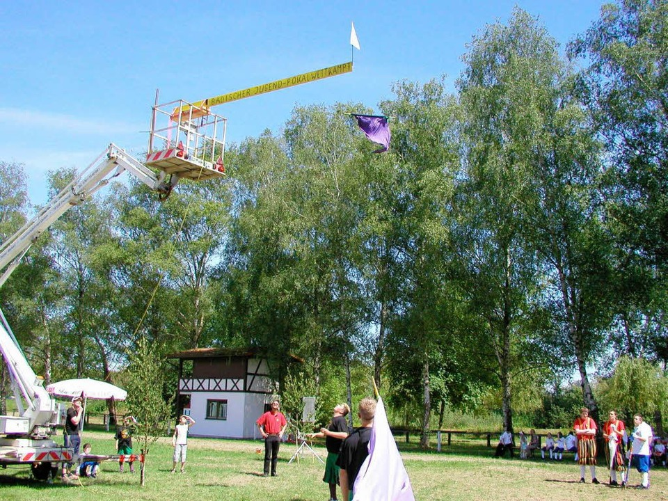 Beim Rettichfest des Fanfarenzugs   We...f-Weltrekord im Badischen aufgestellt.  | Foto: Ilona Hüge
