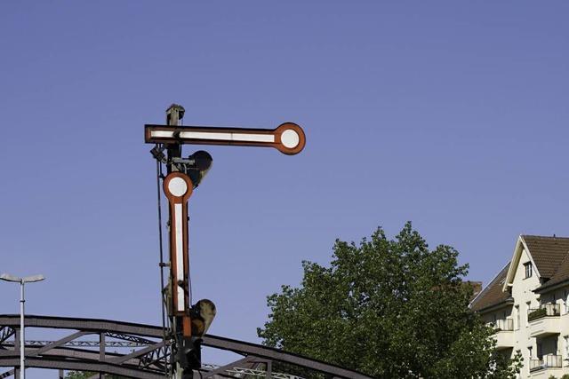 Rheintalbahn: Vollsperrung nach Unfall