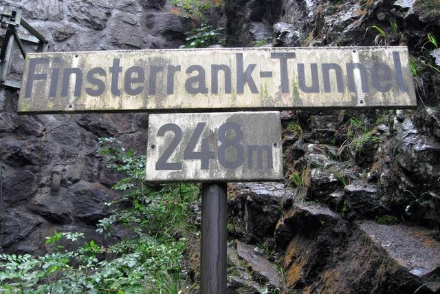 Tunnelnamen wieder lesbar
