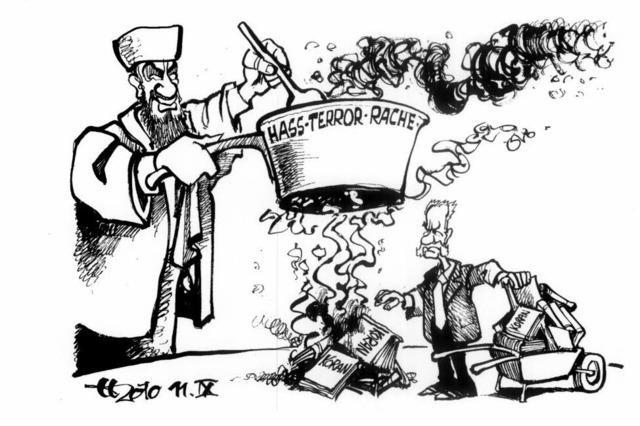 Warme Mahlzeit für Bin Laden