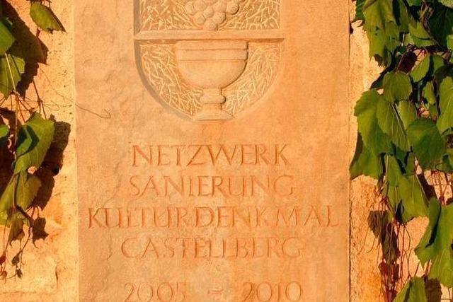 Festakt zur Sanierung des Castellbergs
