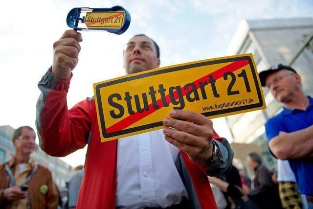 Stuttgart 21: Bahnchef Grube schließt höhere Kosten nicht aus