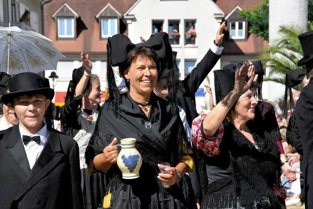 Heimattage: Festumzug mit Markgräfler Prägung