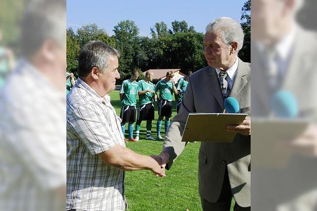DFB würdigt jahrzehntelangen Einsatz