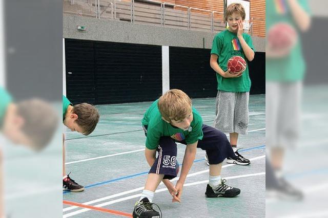 Fünf Tage lang Spaß am Erkunden von Sportarten
