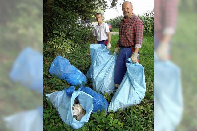 Wilder Müll birgt Risiko