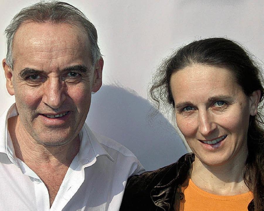 Erich Langjahr und Silvia Haselbeck    | Foto: veranstalter