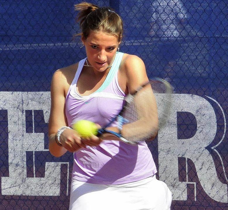 Klara Formanová setzte sich durch.     Foto:  Verein