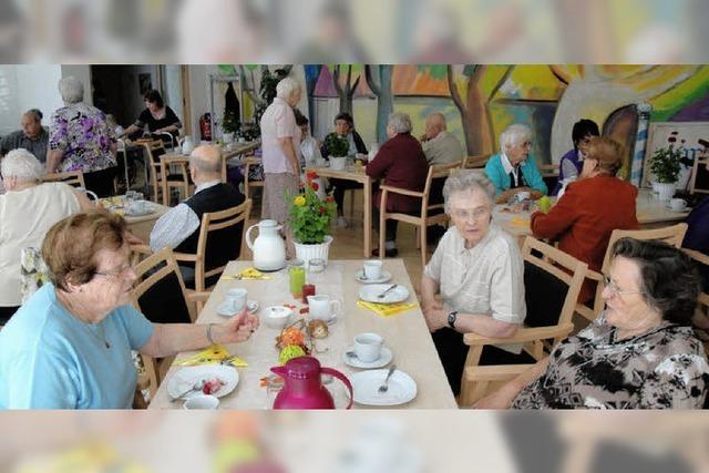 Seniorenresidenz öffnete für zwei Stunden ihre Pforten