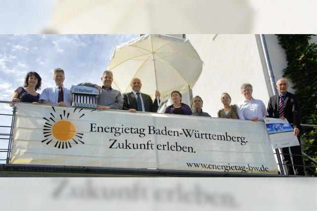 Energietag: Aussteller informieren über Energiesparmöglichkeiten