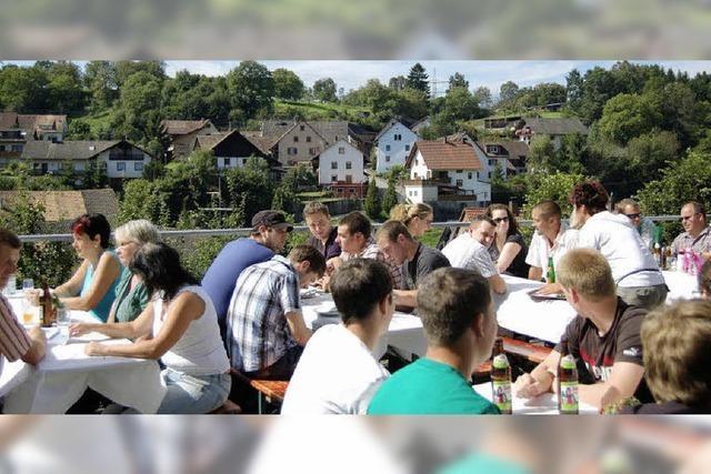 Hoffest in Dossenbach: Genießen und informieren