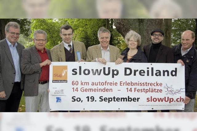 Slow-up: Freie Fahrt für Fahrräder