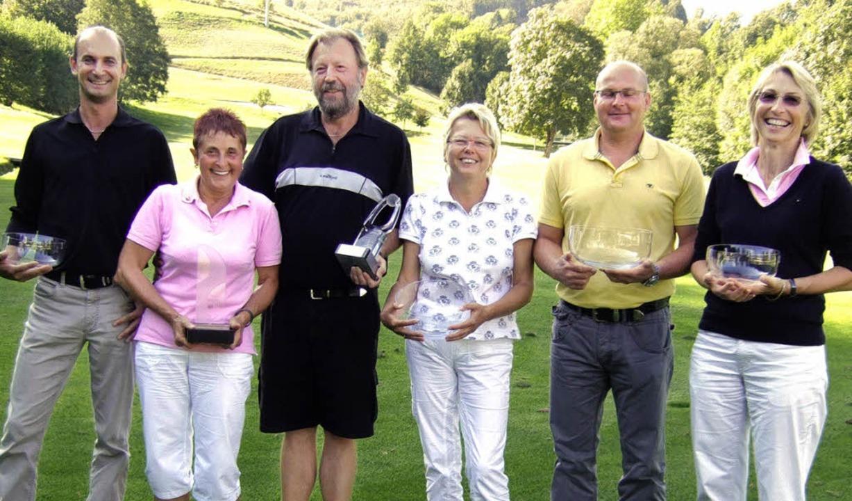 Die Sieger der Clubmeisterschaften des... Herren), Elisabeth Klein (3. Damen).   | Foto: Privat