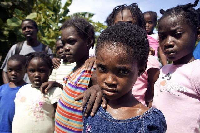 Nun bedroht Wasser Haiti