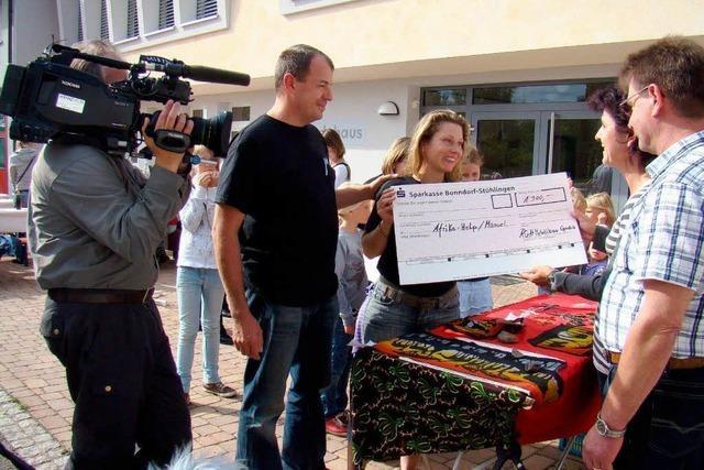 Spenden sammeln für Straßenkinder