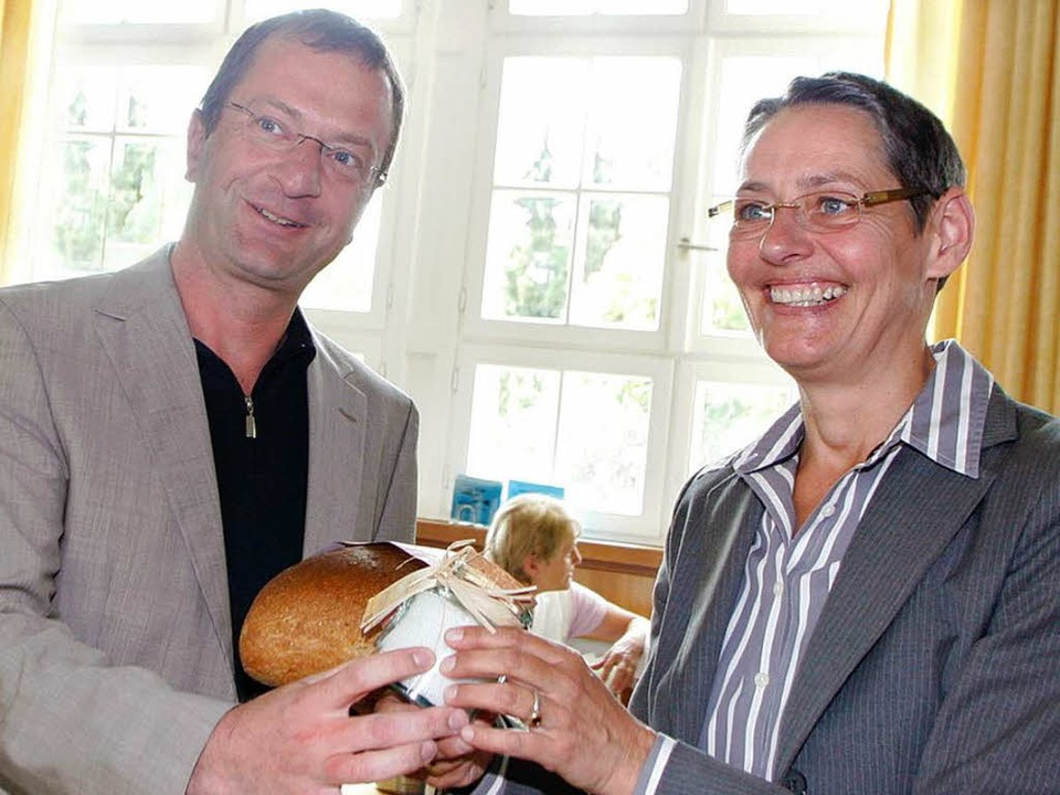 Joachim Rohrer und Claudia Bengel    Foto: Heidi Foessel