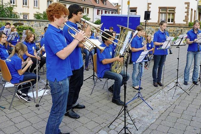 Serenadenkonzert der Jugendkapelle Endingen