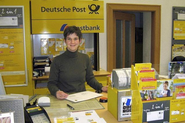 Die Post bleibt vorerst im Rathaus