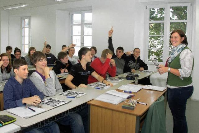 Theodor-Heuss-Realschule: Schuljahr beginnt in der Alten Spinnerei in Haagen