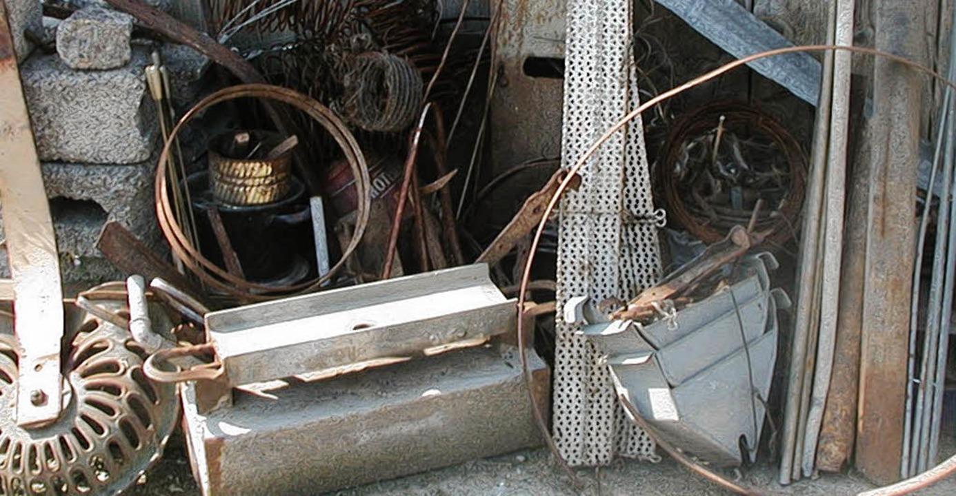 Beim Diebstahl von Altmetall war die Angeklagte in Görwihl erwischt worden.  | Foto: Archivfoto: Florian Kech