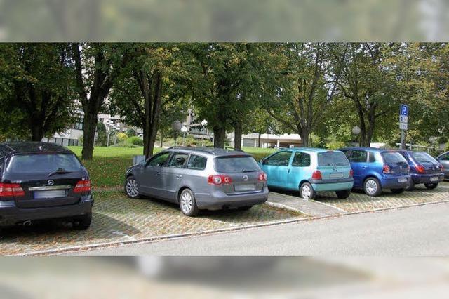 Parkgebühren im Kurgebiet