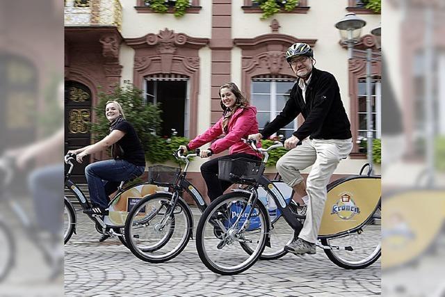 Das Ausleihen eines Rades wird deutlich einfacher