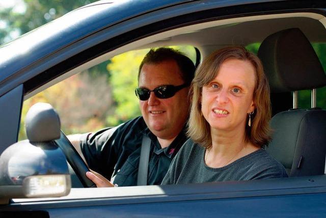Sensomobil: Mit 90 über die Piste – blind