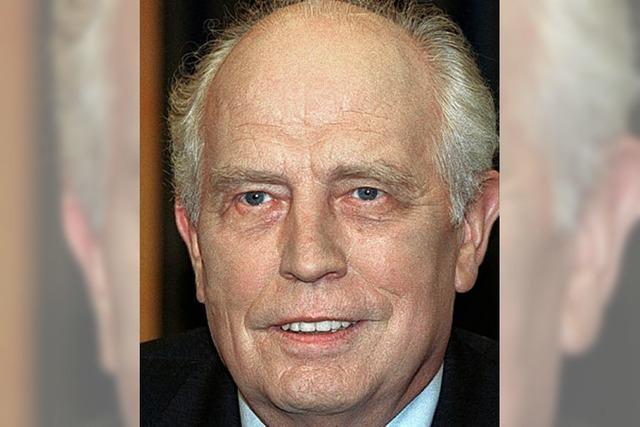 Ex-Bundesbank-Chef begrüßt Rettungsschirm