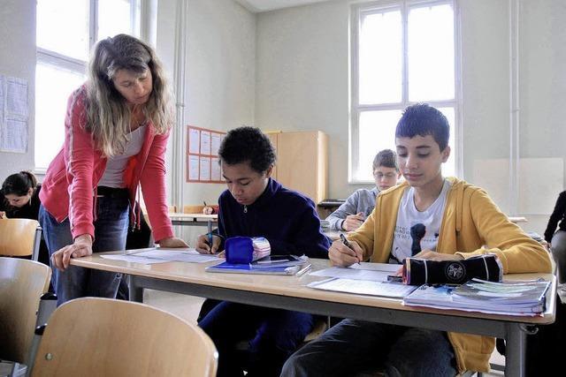 Spagat im Klassenraum