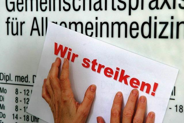 Ärzte-Protest trotz Rekordhonorars