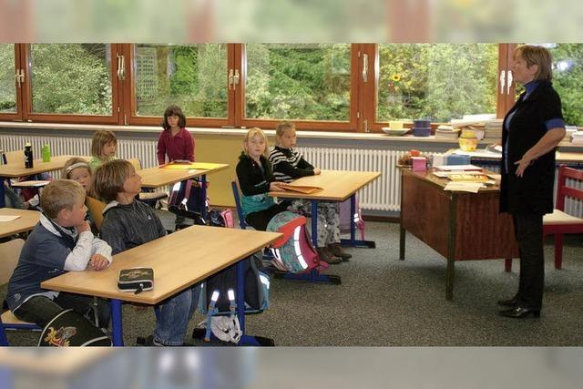 Zuversicht herrscht im Klassenzimmer