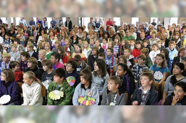 Fast 200 neue Schüler