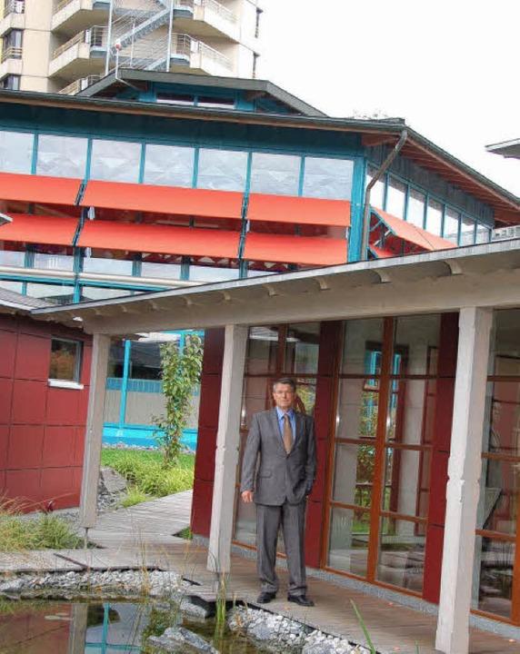 Die Aqualon Therme wird ein Schweizer Haus Bad Säckingen