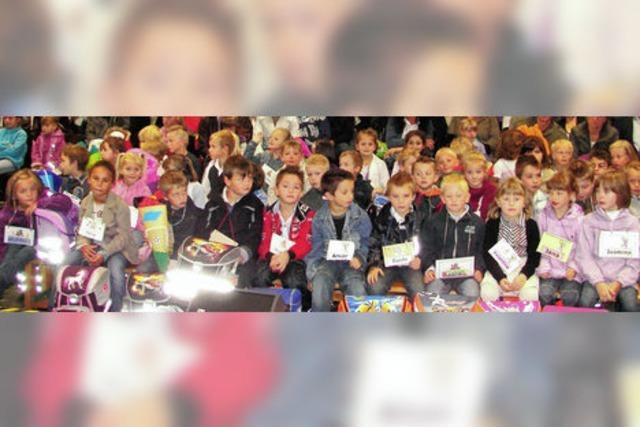 71 Kinder beginnen ihre Schulzeit