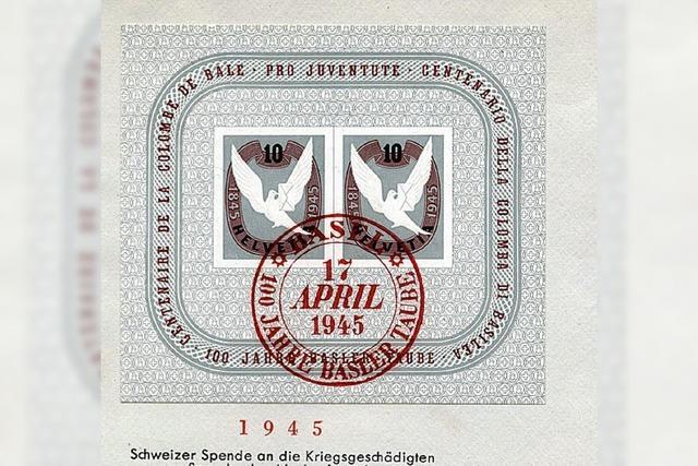 Große Schau der Briefmarken