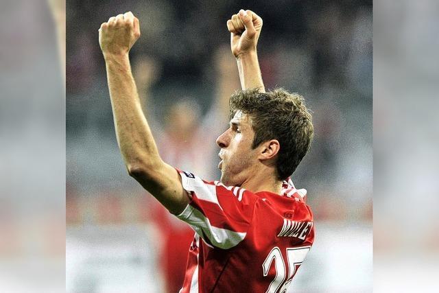 Champions League: Müller und Klose treffen