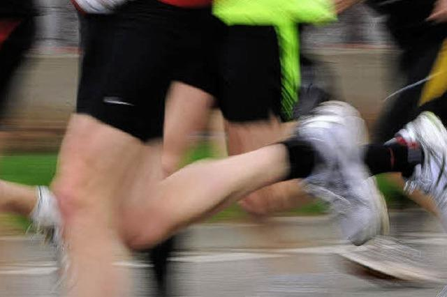 Laufen, bis die Socken qualmen