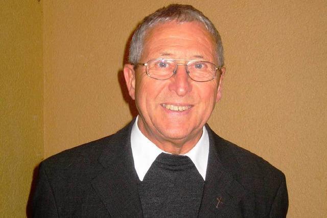Überraschungsparty zum Geburtstag von Pfarrer Peter Klug
