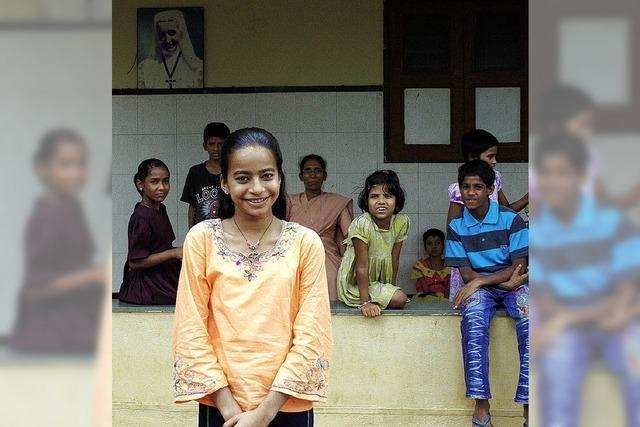15-jährige Inderin: ein Leben mit HIV