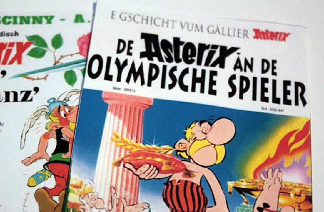 Im Elsass ist Dialektförderung  kein T...eiche Kinderbücher auf Elsässerdeutsch  | Foto: Julia Jacob