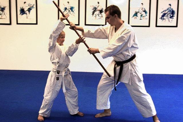 Kinder werden zu Samurai