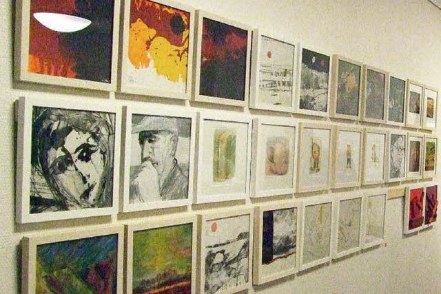 Bilder vieler Ausstellungen
