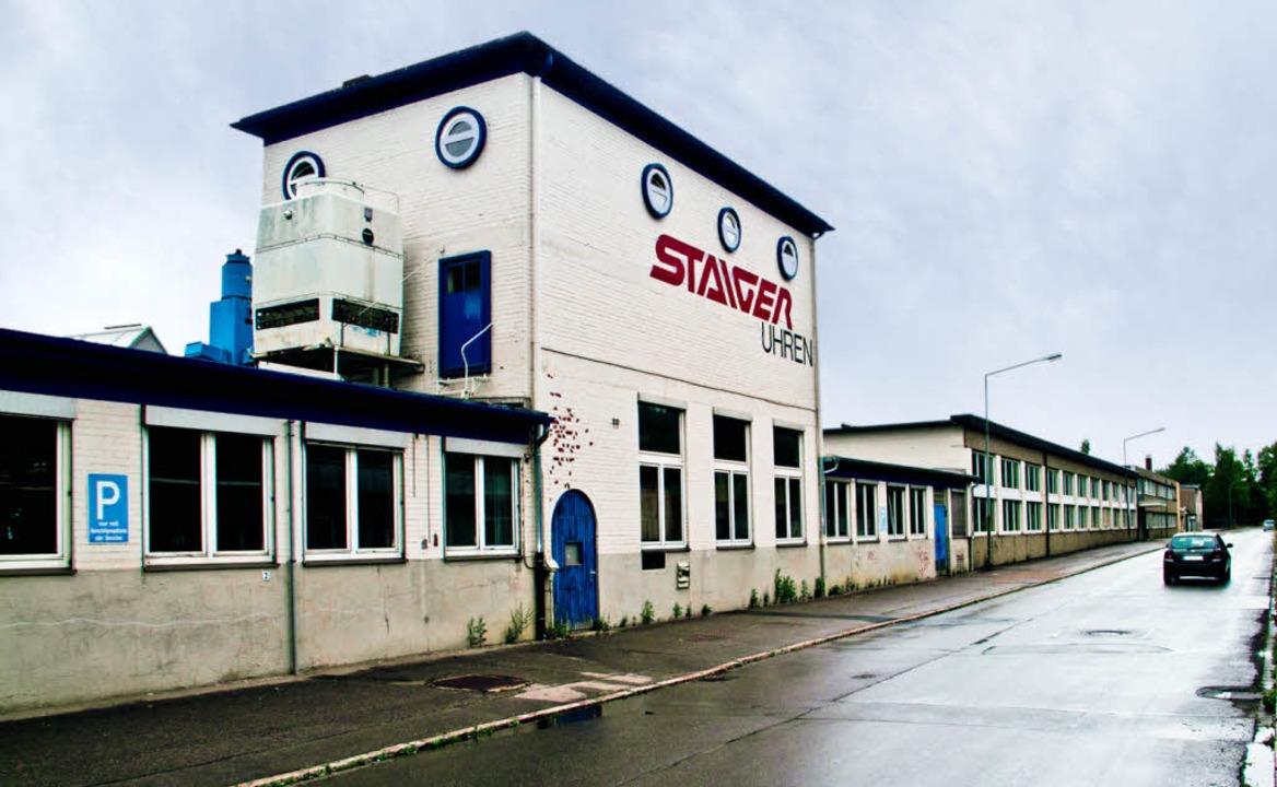 Wird zur Theaterbühne: das ehemalige Staiger-Werk in St. Georgen   | Foto: Thomas Seher