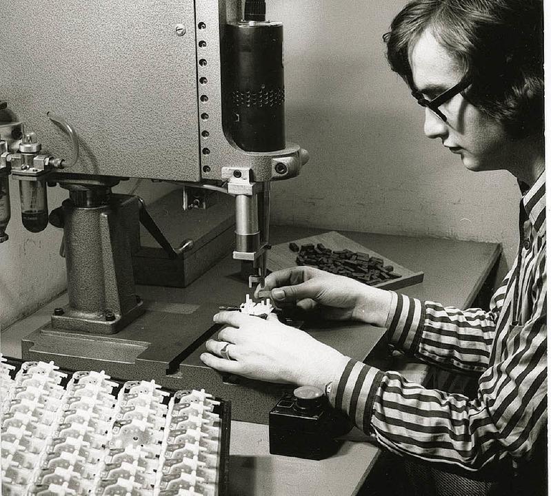 Staiger-Produktion  in den 70er Jahren  | Foto: -