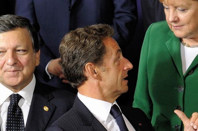 Sarkozy: Auch Merkel will Roma abschieben