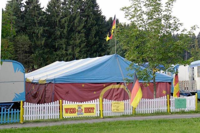 Zirkus in Grafenhausen