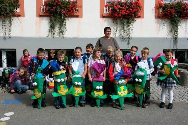 20 neue Schülerinnen und Schüler